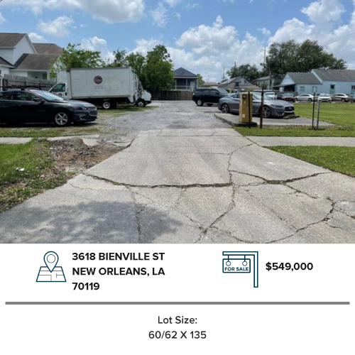 lot land for sale mid city new orleans commercial