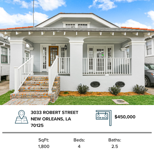broadmoor home new orleans house for sale renovated
