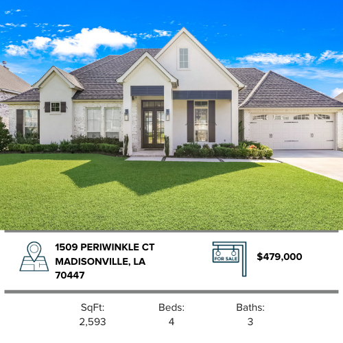 house for sale northshore st. tammany parish madisonville family home