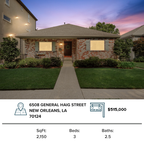 house for sale new orleans lakeview house
